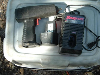 Snap on cordless 3/8 drive impact